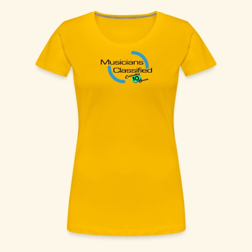 mc BLUE - Women's Premium T-Shirt