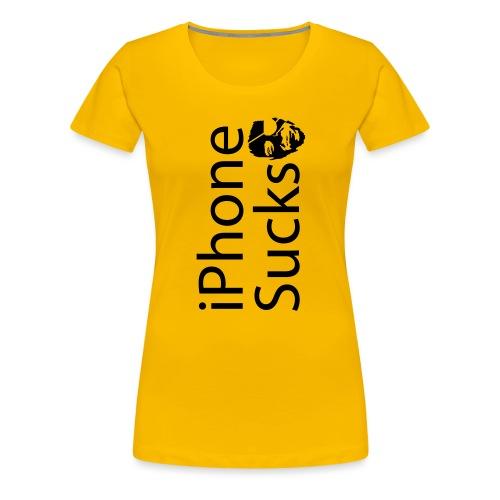 iPhone Sucks - Women's Premium T-Shirt