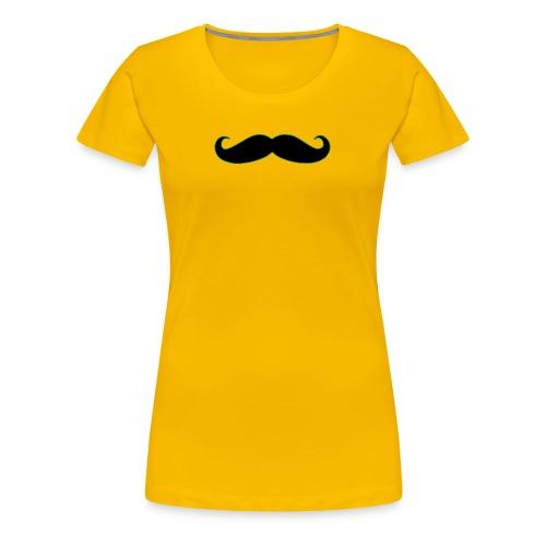 MUSTACHE - Women's Premium T-Shirt