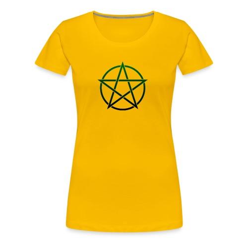 GreenPentagram - Women's Premium T-Shirt