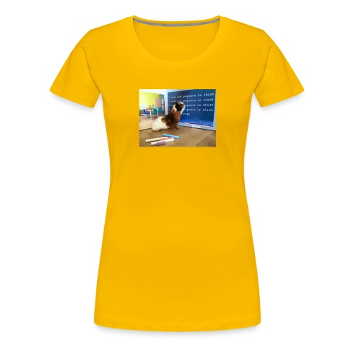 Funny guinea pig - Women's Premium T-Shirt