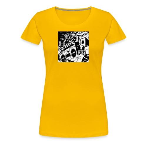 oldskool - Women's Premium T-Shirt