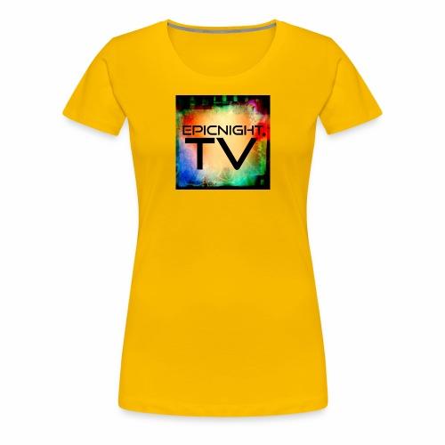 EPICNIGHT.TV - Women's Premium T-Shirt