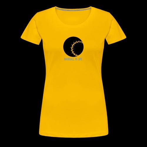 Base Ball Ia Life Logo - Women's Premium T-Shirt