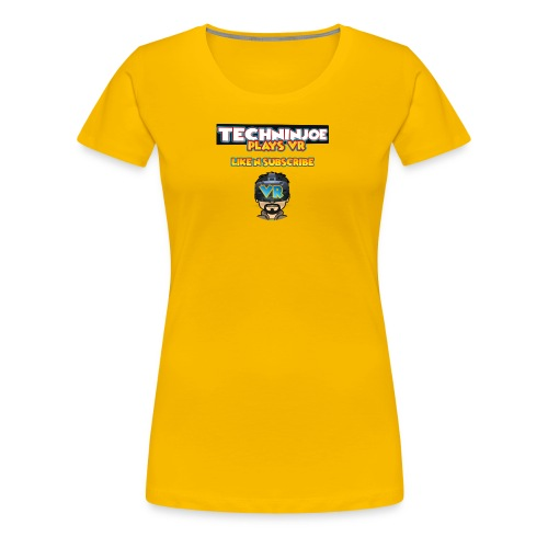 techninjoe Logo T-Shirt - Women's Premium T-Shirt