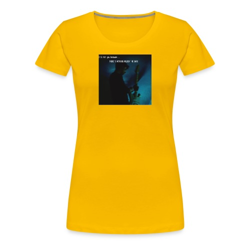 There's nothing holdin' me back - Women's Premium T-Shirt