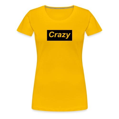 Crazy logo - Women's Premium T-Shirt