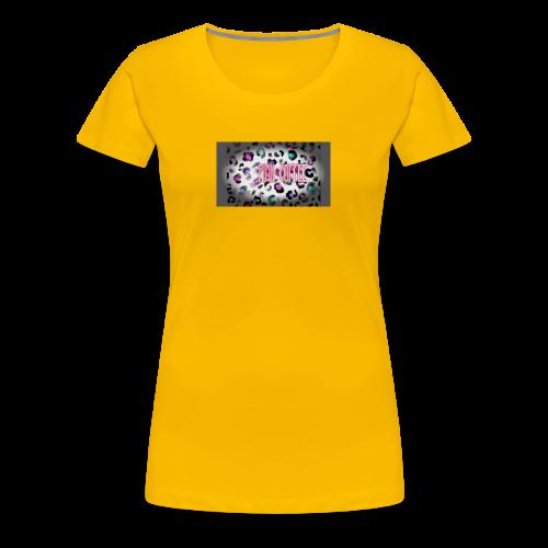 Pink Coffee Logo #1 - Women's Premium T-Shirt