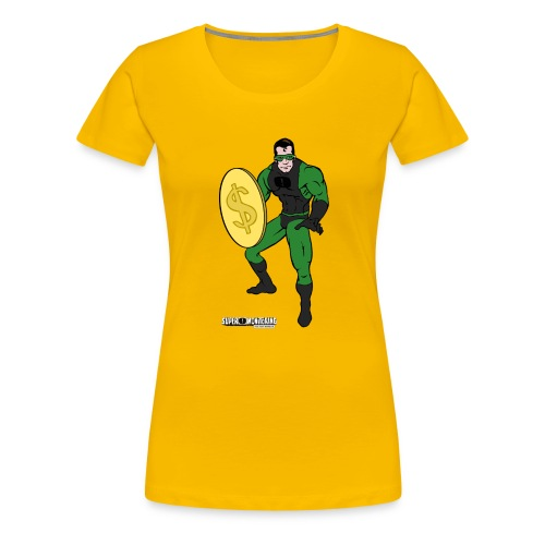 Superhero 4 - Women's Premium T-Shirt