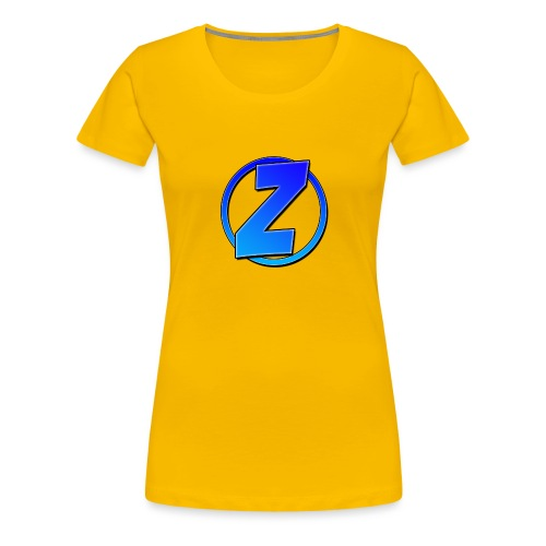 Blue Ziffy logo Shirt - Women's Premium T-Shirt