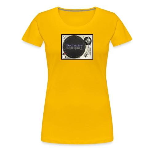 technics 1 - Women's Premium T-Shirt