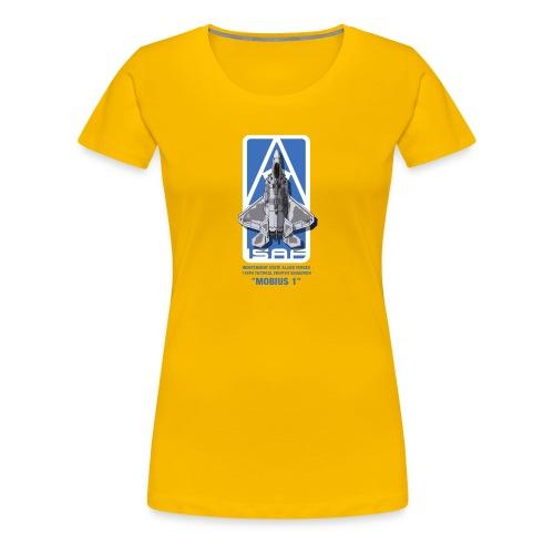 The Usean Ace logo - Women's Premium T-Shirt