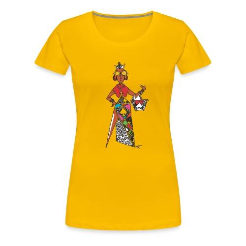 Kwame's Queen Of Spades - Women's Premium T-Shirt