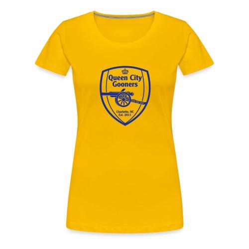 QCG Vector Logo 2015 - Women's Premium T-Shirt