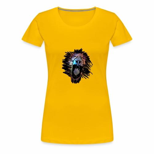 Galaxy Lion - Women's Premium T-Shirt