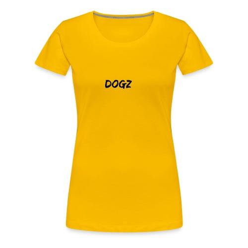 Dogz logo - Women's Premium T-Shirt