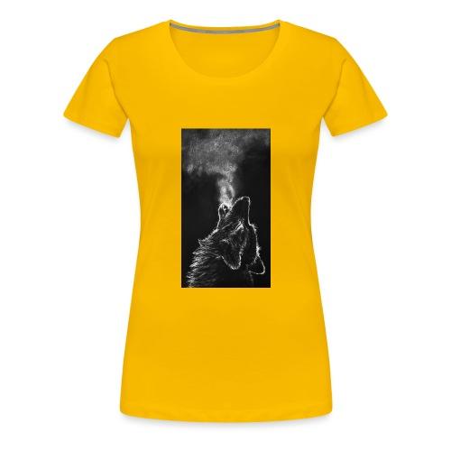 Wolf howl - Women's Premium T-Shirt