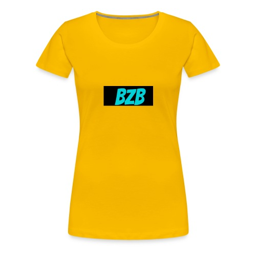 bzb short for BreZeeyBre - Women's Premium T-Shirt