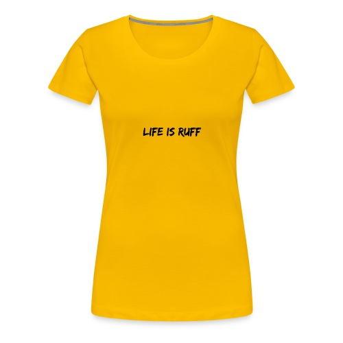 For those who's life has gone to the dogs - Women's Premium T-Shirt