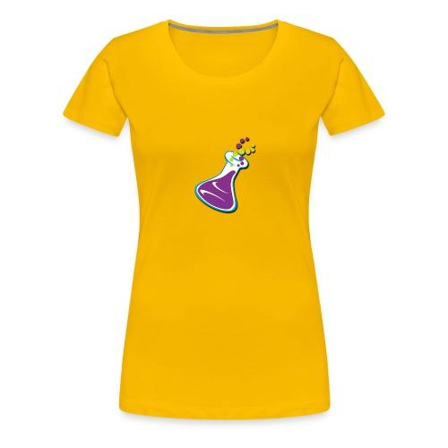 science juice flask logo - Women's Premium T-Shirt