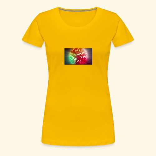 The Disco Party - Women's Premium T-Shirt
