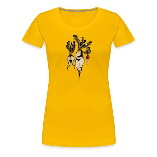 Sexy Vegan Life - Women's Premium T-Shirt