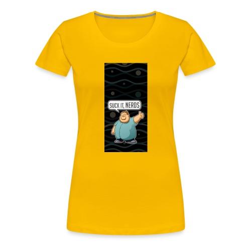 nerdiphone5 - Women's Premium T-Shirt