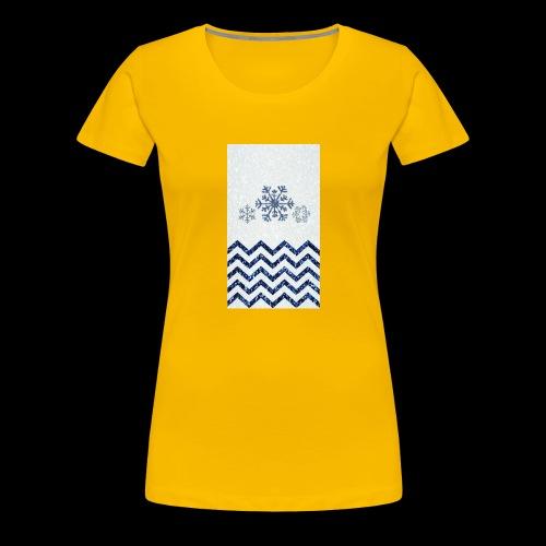 Snow ice - Women's Premium T-Shirt
