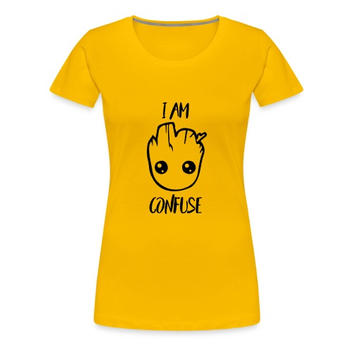 I Am Confuse Head - Women's Premium T-Shirt