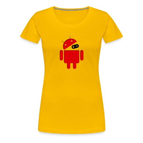 ANDROID png - Women's Premium T-Shirt
