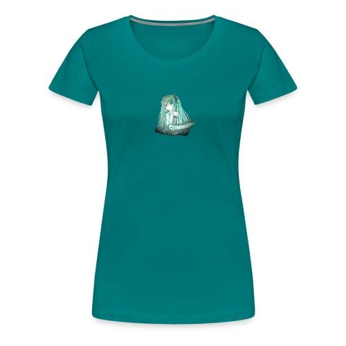 Summrrz Logo Transparent - Women's Premium T-Shirt