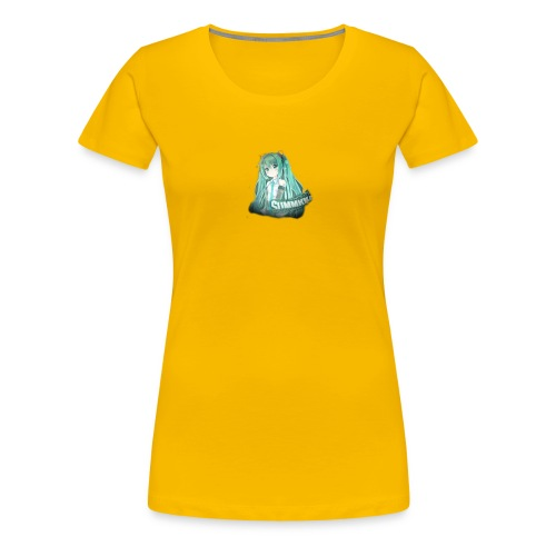 Summrrz Logo Transparent - Women's Premium T-Shirt