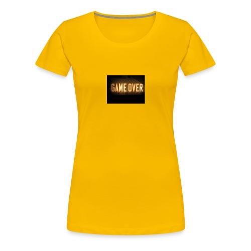 game-over tops ect - Women's Premium T-Shirt