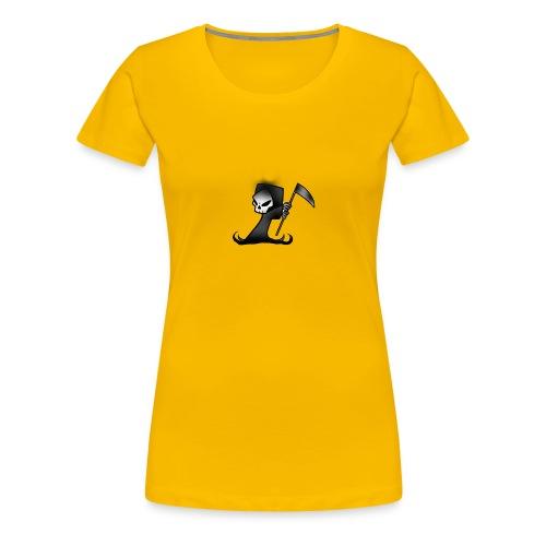 the grim - Women's Premium T-Shirt