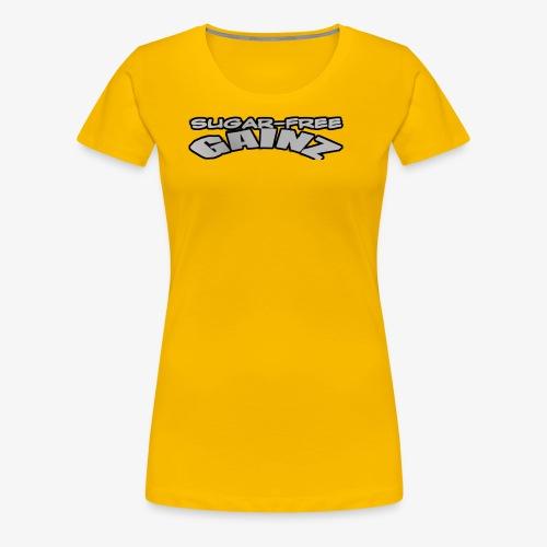 greylogo - Women's Premium T-Shirt
