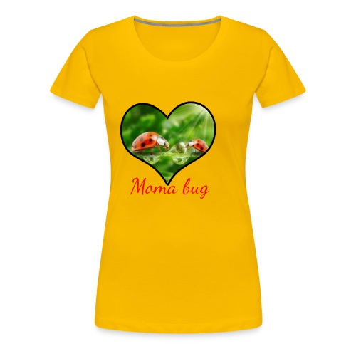 moma bug - Women's Premium T-Shirt