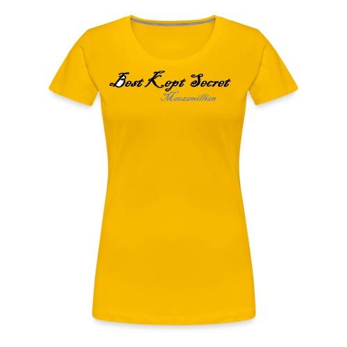 Best Kept Secret 1 - Women's Premium T-Shirt
