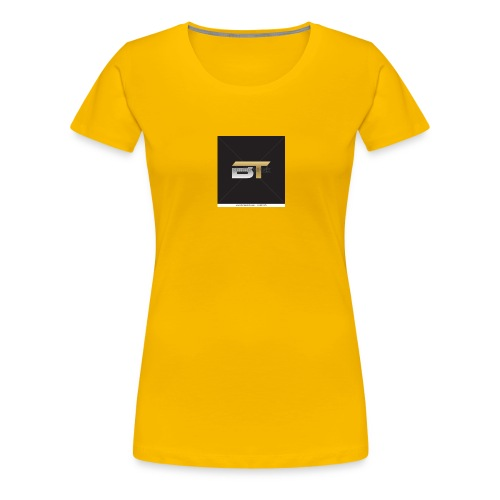 BT logo golden - Women's Premium T-Shirt