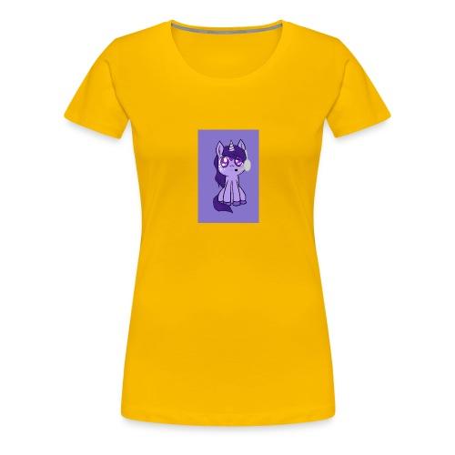 Sweetie Gamer Unicorn - Women's Premium T-Shirt