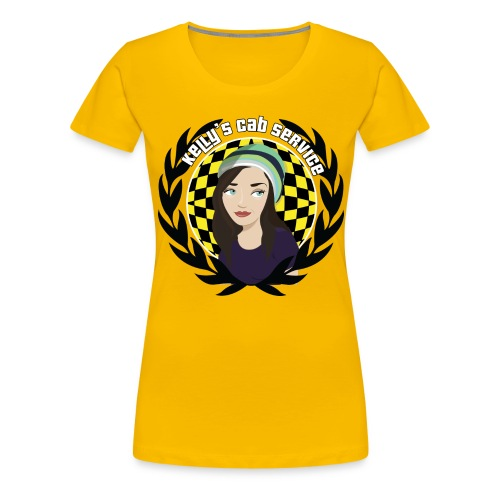 kellyscabservice 5 - Women's Premium T-Shirt