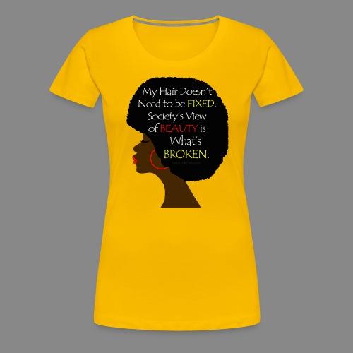 Beauty Perception - Women's Premium T-Shirt