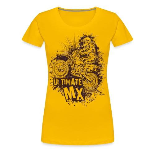 Ultimate FMX Grunge - Women's Premium T-Shirt