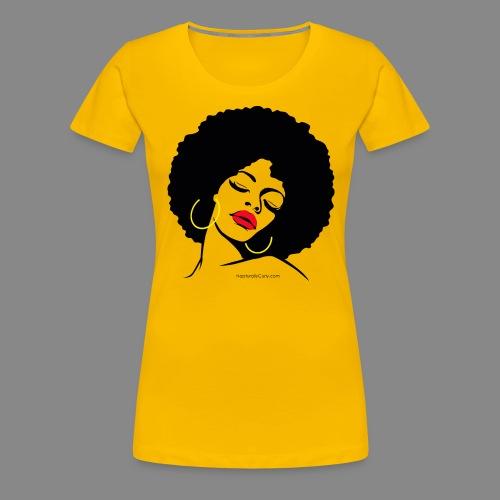 Afro Diva - Women's Premium T-Shirt