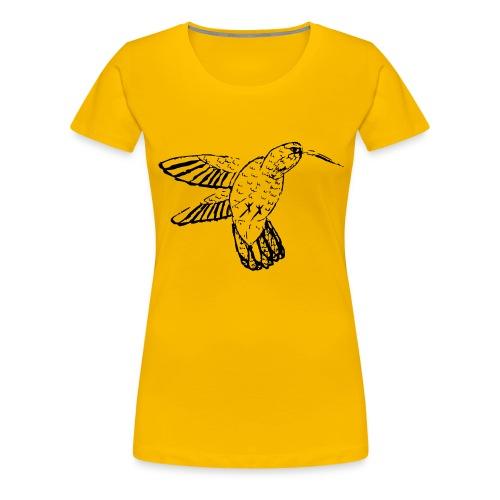 Hummingbird - Women's Premium T-Shirt