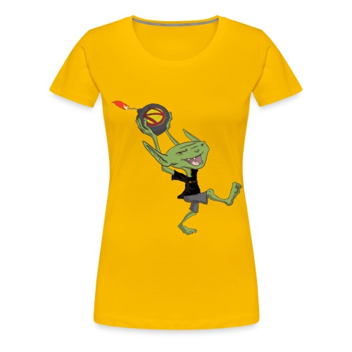 nerdarchistgoblinasset - Women's Premium T-Shirt