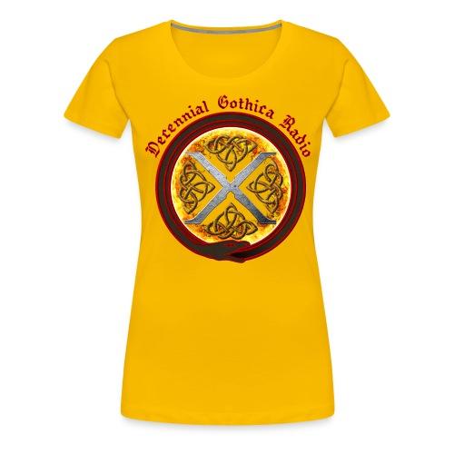 Decennial Gothica Logo - Women's Premium T-Shirt