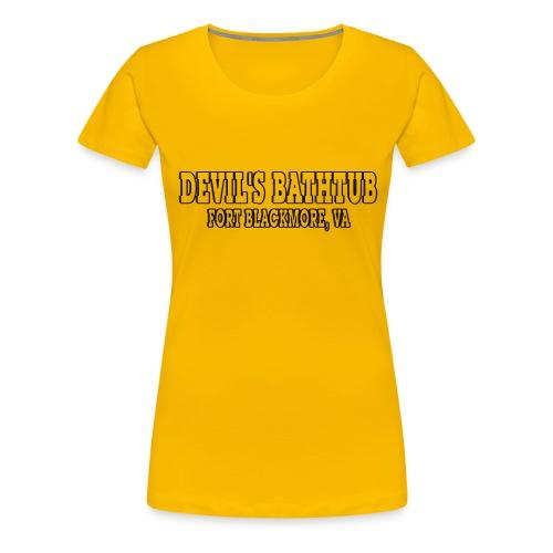 Devil's Bathtub - Women's Premium T-Shirt