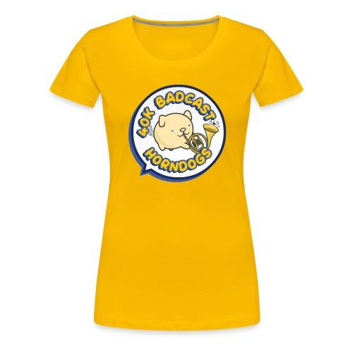 40k Badcast Horndogs - Women's Premium T-Shirt