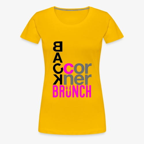 #BackCornerBrunch Summer Drop - Women's Premium T-Shirt