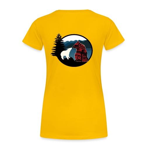 BearsForever Logo png png - Women's Premium T-Shirt